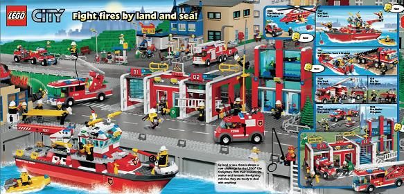 lego city fire launch