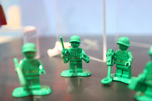 Lego Toy Story-Green Army Men