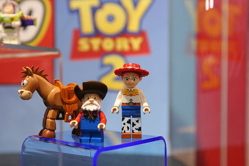 Lego Toy Story-Bulls-eye and Jessie and Prospector